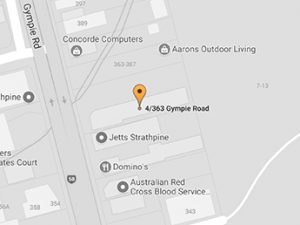 Google map location of Big Law Strathpine